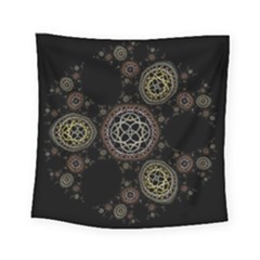 Background Pattern Symmetry Square Tapestry (small)