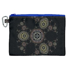 Background Pattern Symmetry Canvas Cosmetic Bag (xl) by Celenk