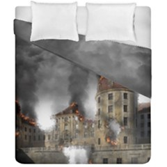 Destruction Apocalypse War Disaster Duvet Cover Double Side (california King Size) by Celenk