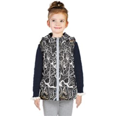 Abstract Pattern Backdrop Texture Kid s Puffer Vest