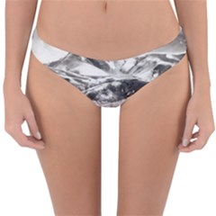 Mountains Winter Landscape Nature Reversible Hipster Bikini Bottoms by Celenk