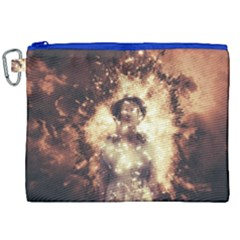 Science Fiction Teleportation Canvas Cosmetic Bag (xxl) by Celenk