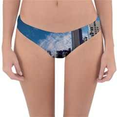 Skyscraper City Architecture Urban Reversible Hipster Bikini Bottoms