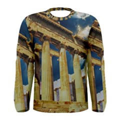 Athens Greece Ancient Architecture Men s Long Sleeve Tee