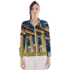 Athens Greece Ancient Architecture Wind Breaker (women) by Celenk