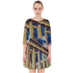 Athens Greece Ancient Architecture Smock Dress