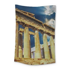 Athens Greece Ancient Architecture Small Tapestry by Celenk