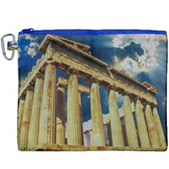 Athens Greece Ancient Architecture Canvas Cosmetic Bag (xxxl) by Celenk