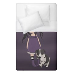 Dolly Girl And Dog Duvet Cover (single Size)