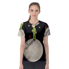 The Little Prince Women s Sport Mesh Tee
