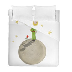 The Little Prince Duvet Cover Double Side (full/ Double Size) by Valentinaart