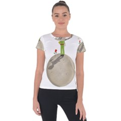 The Little Prince Short Sleeve Sports Top