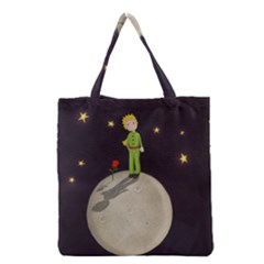 The Little Prince Grocery Tote Bag by Valentinaart