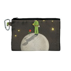 The Little Prince Canvas Cosmetic Bag (medium) by Valentinaart