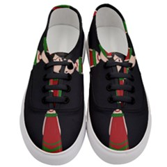 Frida Kahlo Doll Women s Classic Low Top Sneakers