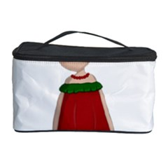 Frida Kahlo Doll Cosmetic Storage Case by Valentinaart