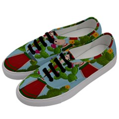 Frida Kahlo Doll Men s Classic Low Top Sneakers by Valentinaart