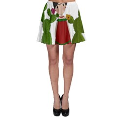 Frida Kahlo Doll Skater Skirt