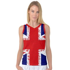 Union Jack London Flag Uk Women s Basketball Tank Top