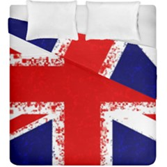 Union Jack London Flag Uk Duvet Cover Double Side (king Size) by Celenk