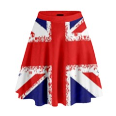 Union Jack London Flag Uk High Waist Skirt by Celenk