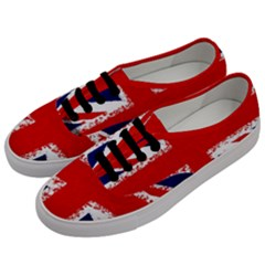 Union Jack London Flag Uk Men s Classic Low Top Sneakers by Celenk