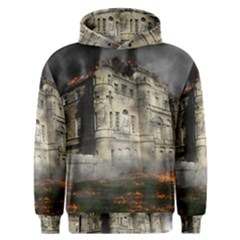 Castle Ruin Attack Destruction Men s Overhead Hoodie