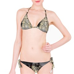 Castle Ruin Attack Destruction Bikini Set
