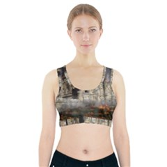 Castle Ruin Attack Destruction Sports Bra With Pocket by Celenk