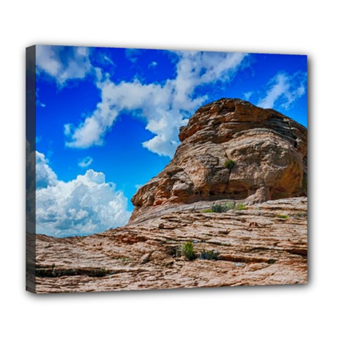 Mountain Canyon Landscape Nature Deluxe Canvas 24  X 20