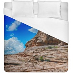 Mountain Canyon Landscape Nature Duvet Cover (king Size)