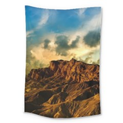 Mountain Sky Landscape Nature Large Tapestry by Celenk