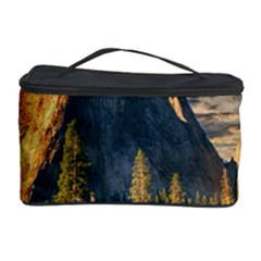Mountains Landscape Rock Forest Cosmetic Storage Case by Celenk