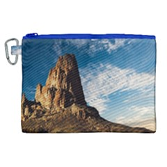 Mountain Desert Landscape Nature Canvas Cosmetic Bag (xl) by Celenk