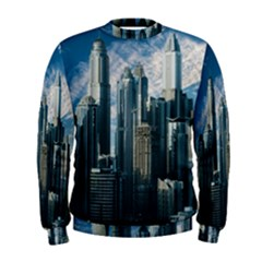 Skyscraper Cityline Urban Skyline Men s Sweatshirt