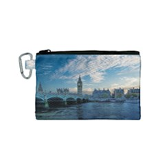 London Westminster Landmark England Canvas Cosmetic Bag (small) by Celenk