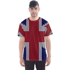 Union Jack Flag British Flag Men s Sports Mesh Tee