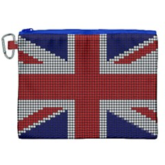 Union Jack Flag British Flag Canvas Cosmetic Bag (xxl) by Celenk