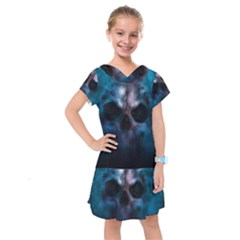 Skull Horror Halloween Death Dead Kids  Drop Waist Dress