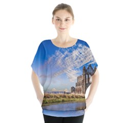 Ruin Church Ancient Architecture Blouse