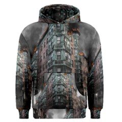 War Destruction Armageddon Disaster Men s Pullover Hoodie