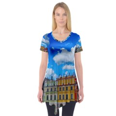 Buildings Architecture Architectural Short Sleeve Tunic