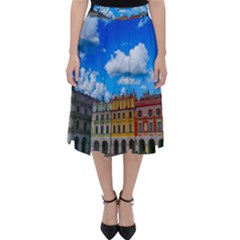Buildings Architecture Architectural Folding Skater Skirt