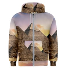 Pyramids Egypt Men s Zipper Hoodie by Celenk