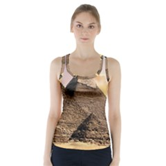 Pyramids Egypt Racer Back Sports Top