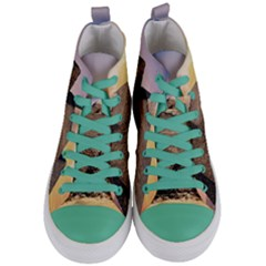 Pyramids Egypt Women s Mid-top Canvas Sneakers