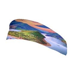 Landscape River Nature Water Sky Stretchable Headband