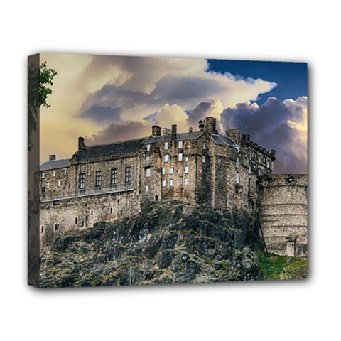 Castle Monument Landmark Deluxe Canvas 20  X 16   by Celenk