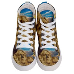 Monument President Landmark Men s Hi Top Skate Sneakers