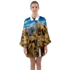Monument President Landmark Long Sleeve Kimono Robe
